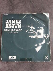 """VINYL 45T JAMES BROWN """" SOUL POWER (parts 1,2 et 3) """" POLYDOR"""
