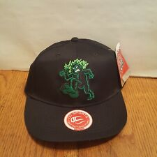 EUGENE EMERALDS BASEBALL HAT Bigfoot Sasquatch Adjustable Youth NWT NEON GREEN
