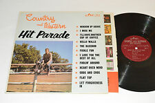 COUNTRY AND WESTERN HIT PARADE by the Nashville Allstars LP Arc Records CH-5 VG