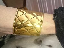 Vintage Gold Chanel Cuff/Bracelet