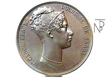 NAPOLI-Due Sicilie (M.Carolina di Borbone) Medaglia 1824-RRR.