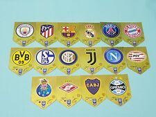 Panini Adrenalyn XL FIFA 365 2019 alle 16 Wappen Club Badge Logos