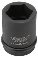"Expert 27Mm 3/4"" Square Drive Hi-Torq® 6 Point Impact Socket Draper 28719"