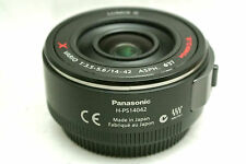 Panasonic Lumix GX Vario PZ 14-42mm / F3.5-5.6 Power O.I.S. lens *black *mint