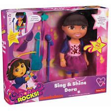 New Fisher-Price Dora Rocks Sing and Shine Dora