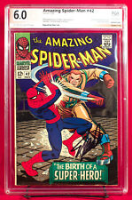 AMAZING SPIDER-MAN #42 PGX 6.0 F Fine  3rd Mary Jane! signed by STAN LEE! +CGC!!