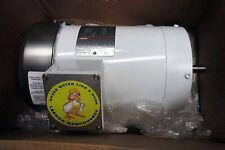 Leeson 3 HP Washguard Motor 3 Ph, RPM 3450, TEFC 115976.00 - Alt. to 119473.00