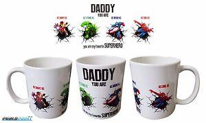 New Fathers Day Daddy Dad Father coffee tea mug 11oz Avengers gift birthday