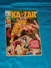 KAZAR # 2, Dec. 1970, DAREDEVIL! X-MEN ANGEL STORY! GOOD CONDITION