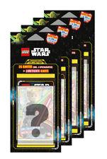 LEGO Star Wars - Serie 1 Trading Cards - Alle 4 verschiedene Blister - Deutsch