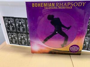 Queen Bohemian Rhapsody 2 X Picture Disc The Original Soundtrack RSD 2019 Sealed