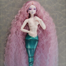"【Dollmore 】1/4BJD WIG SIZE MSD (7-8)"" Stardust Mermaid Wig (Pink)"