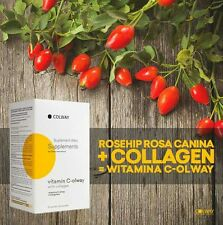 ⭕Colway Vitamin C-olway 100% natural with fish collagen 30 sachets+free brochure