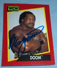 Ron Simmons Signed 1991 Impel WCW Doom Card #149 WWE Autograph FSU Pro Wrestling