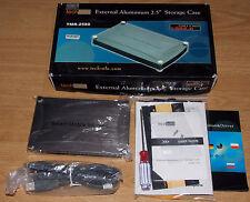 """Externes Festplattengehäuse 2,5"""" IDE USB 2.0 Techsolo TMR-2580 von Win 98 bis 10"""