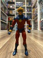 "Marvel Legends Hasbro Abomination BAF Series CAPTAIN Mar-vell 6"" Action Figure"