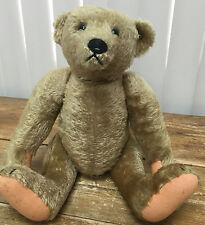 "Steiff Golden Teddy Bear Back Hump Jointed Classic Mohair Plush 16"" 40cm HELP ?"