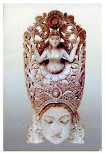 Authentic Sri Lankan Wooden Mask - Narilatha