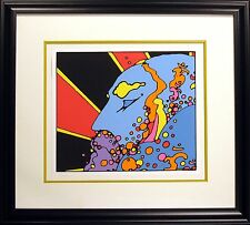 "Peter Max ""Sat Guru, Teacher of Light"" Signed Serigraph pop art 1972 MAKE OFFER!"