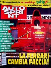 Autosprint 8 1997 Nuova F310B. Daytona. Sauber C16. Test a Estoril SC.55