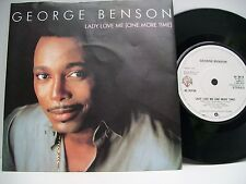 """7"""" VINYL SINGLE. Lady Love Me (One More Time) by George Benson. 1983. W 9614."""