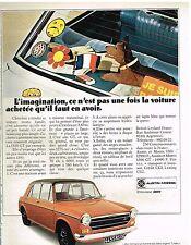 Publicité Advertising 1973 Austin 1300 GT Austin-Morris