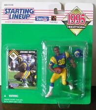 1995 Jerome Bettis Los Angeles Rams SLU mint in pkg w/ football card