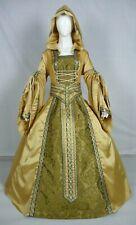 Vestido de boda Renaissance Tudor Medieval handfasting Larp Vestido de disfraz (MD-06)