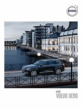 Volvo XC90 2016 catalogue brochure Slovakia Slovaquie