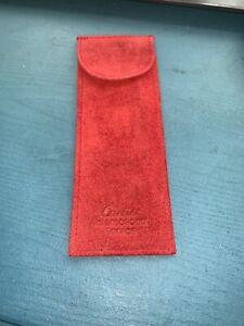 Cartier travel Pouch. International Service pouch.