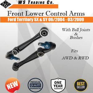 Front Lower Control Arms For Ford Territory TX SX SY 04-09 Pair