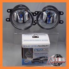 fits Lexus/Scion/Toyota OEM Replacement Clear Fog Lights Set w PERDE H11 6000K