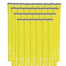 Yellow Golf Grips 100 Piece Pack New Round Neon Mens Standard .600  Grip 48 gram