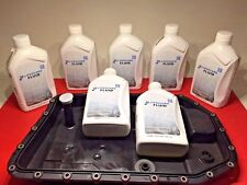 BMW JAGUAR LAND ROVER Auto Trans Oil Pan With Filter & 7 Lit Trans Fluid Kit ZF