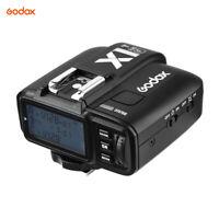 Godox X1T-F 2.4G Wireless TTL 1/8000s HSS Flash Trigger Transmitter LCD for Fuji