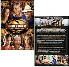 SURVIVOR  2 (2001) AUSTRALIAN OUTBACK Herbert River US TV Season Series NEW DVD