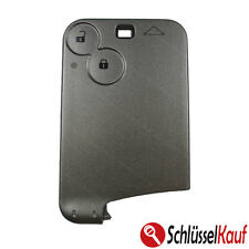 Car Key 2 Buttons Card Housing Compatible with Renault Megane Scenic Laguna