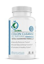 Colon Cleanse All Natural by VITAGLOBAL Total Cleansing Formula 60 Capsules