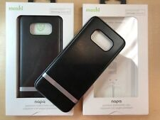 Moshi iGlaze Napa Vegan Leather Case Samsung Galaxy S8+ Plus Black