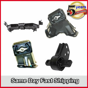 Motor & Auto Trans Mount New For Set 4PCS Jeep Commander Grand Cherokee 3.7L