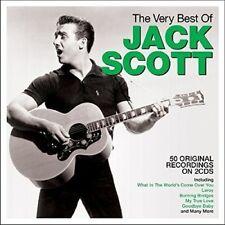 JACK SCOTT ~ THE VERY BEST OF NEW SEALED 2CD ROCKABILLY / GOSPEL