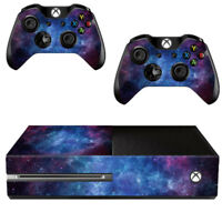 Nebula Vinyl Skin Decal Sticker Wrap For Microsoft Xbox One Console &Controllers