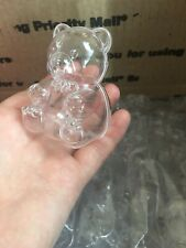 Teddy Bear Plastic Party Favor Accessory Container (60 Bears)