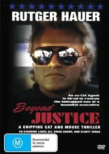 BEYOND JUSTICE - RUTGER HAUER - CLASSIC  NEW & SEALED DVD