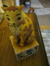 """Jim Shore 2003 Heartwood Creek Cat """"Jasper"""" # 114424"""