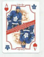 2019/20 O-Pee-Chee AUSTON MATTHEWS    Ace of Hearts Playing Card