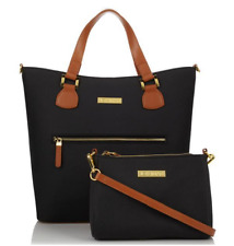 JOY & IMAN Alexandria Leather Tote and Crossbody, MSRP $296
