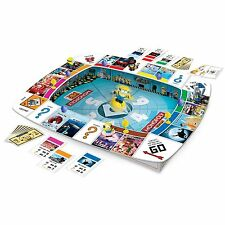 Despicable Me Monopoly Minion Board Game w/ Dice & Tokens & Tray by Everest