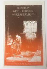1969 Bo Diddley At the Rose Garden Pasadena Handbill