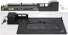 Lenovo Dockingstation 4337 USB 3 + Schlüssel für T410 T420 X230 X220 T430 L T W